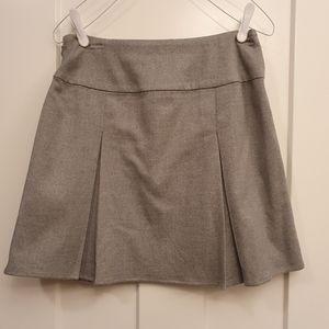 Aeropostale pleated wool skirt